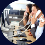 Call center outbound per le telecomunicazioni
